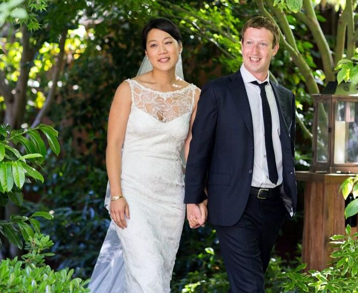 Присцилла Чан и Марк Цукерберг.  / Фото: www.fototelegraf.ru