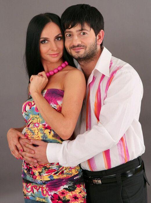 Михаил Галустян и Виктория Штефанец. / Фото: www.golbis.com
