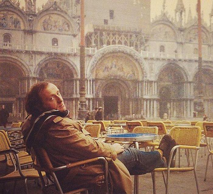 Иосиф Бродский в Венеции. / Фото: www.kravchinsky.com