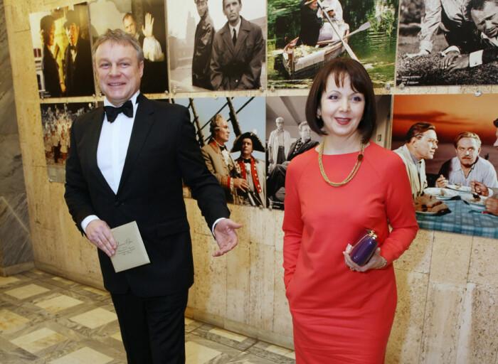 Вера Новикова и Сергей Жигунов. / Фото: www.aloha-plus.ru