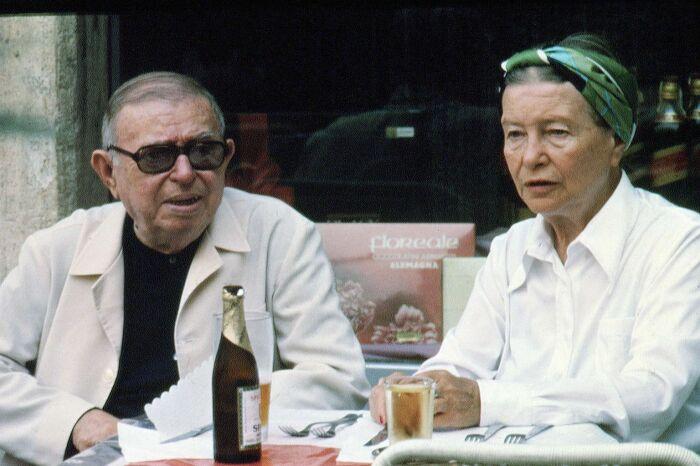 Жан-Поль Сартр и Симона де Бовуар. / Фото: www.blogspot.com