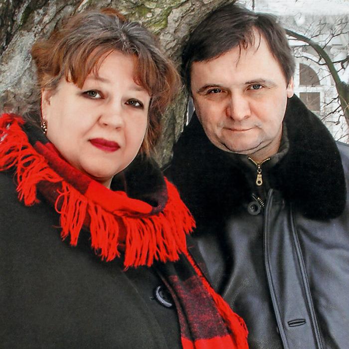Константин Воробьёв и Ольга Самошина. / Фото: www.7days.ru