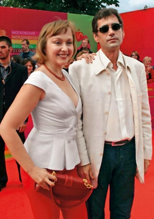 Ирина Малышева с мужем. / Фото: www.7days.ru