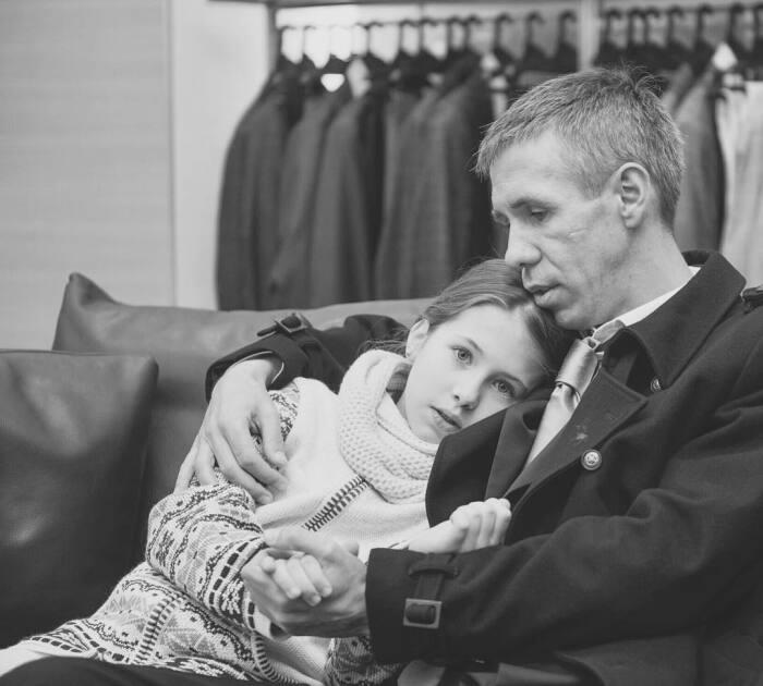 Алексей Панин с дочерью. / Фото: www.obaldela.ru