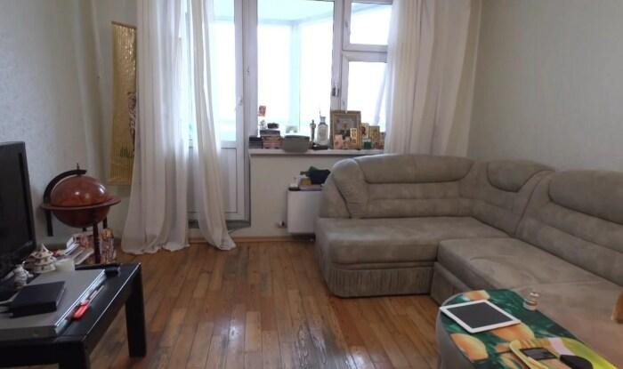 Квартира Ольги Машной до ремонта. / Фото: www.yandex.net