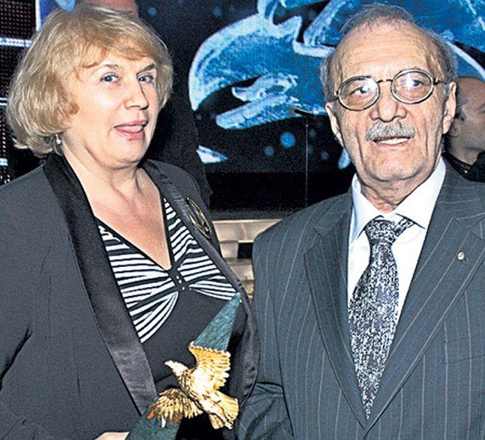 Галина и Георгий Данелия. / Фото: www.mir46.ru