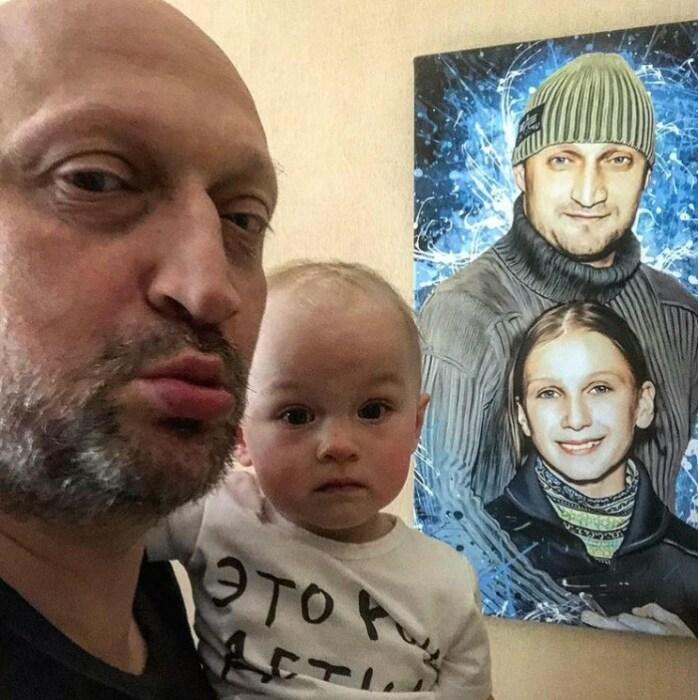 Старшая и младшая дочери Гоши Куценко. / Фото: www.instagram.com
