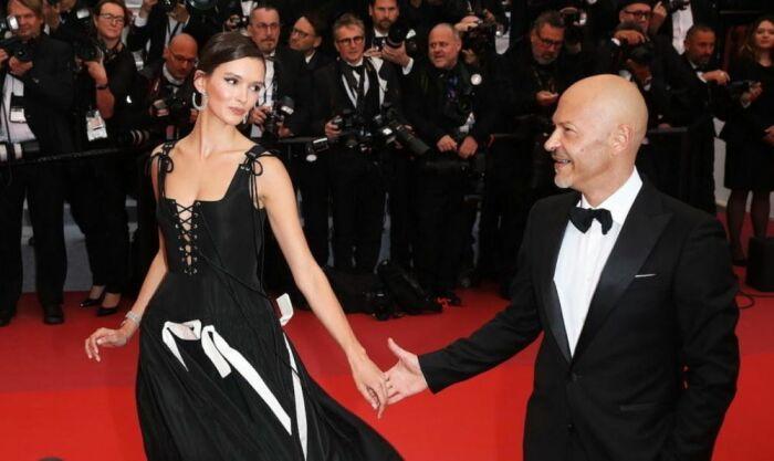 Фёдор Бондарчук и Паулина Андреева. / Фото: www.ok-magazine.ru