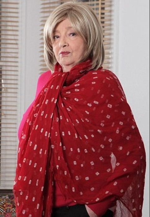 Кристин Килер в старости. / Фото: www.dailymail.co.uk