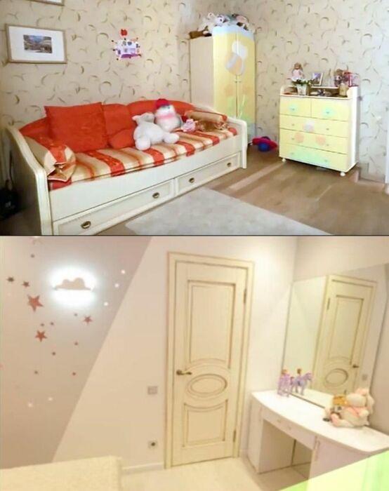 Детская комната в квартире Виталия Гогунского до и после ремонта. / Фото: www.housejournal.ru