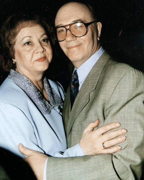 Леонид и Нина Куравлёвы. / Фото: www.yandex.net