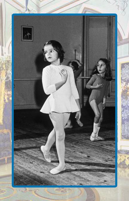 Принцесса Стефания в детстве.