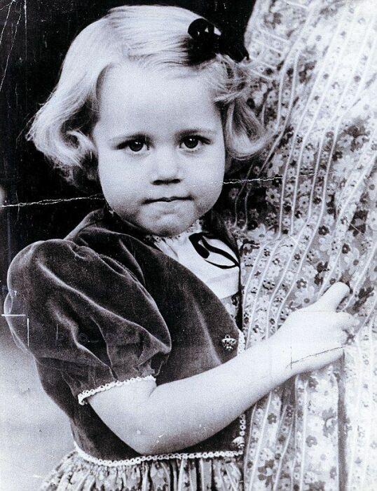 Маленькая Джейн Фонда. / Фото: www.pinimg.com