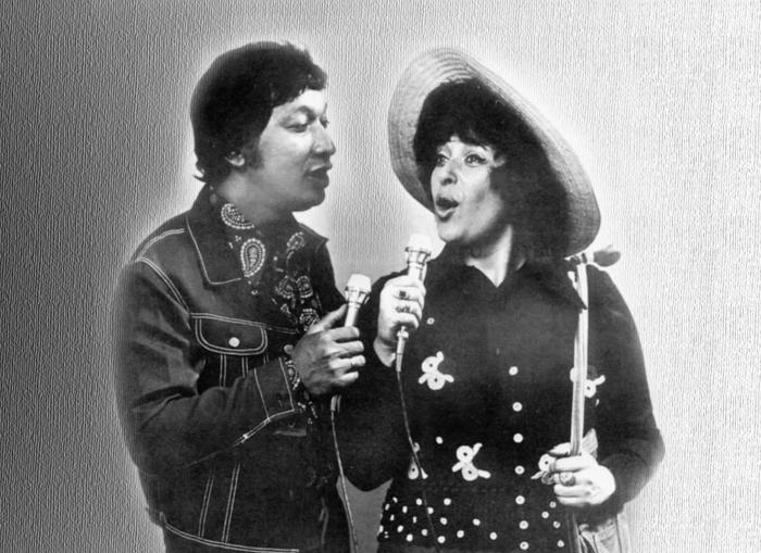 Алла Иошпе и Стахан Рахимов. / Фото: www.tunnel.ru