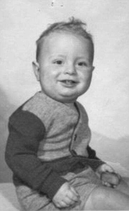 Альфред Хичкок в детстве. / Фото: www.dagospia.com