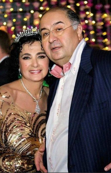 Алишер Усманов и Ирина Винер. / Фото: www.lifeinteres.ru