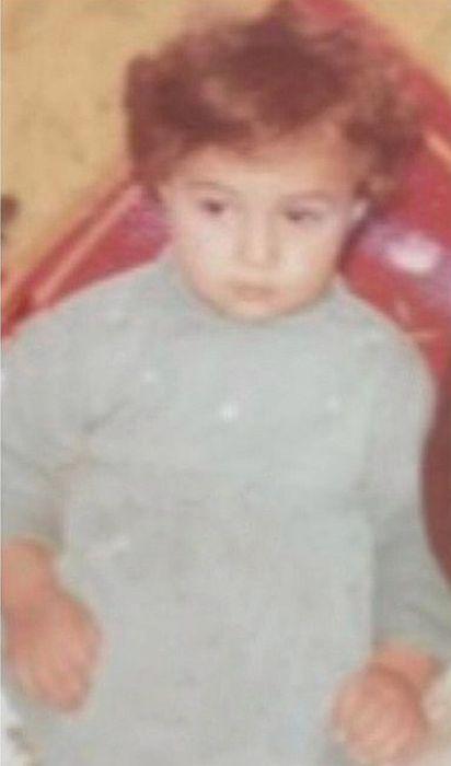 Селим Байрактар в детстве. / Фото: www.instagram.com