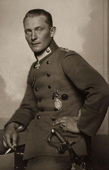 Герман Геринг в 1917 году. / Фото: www.wikimedia.org