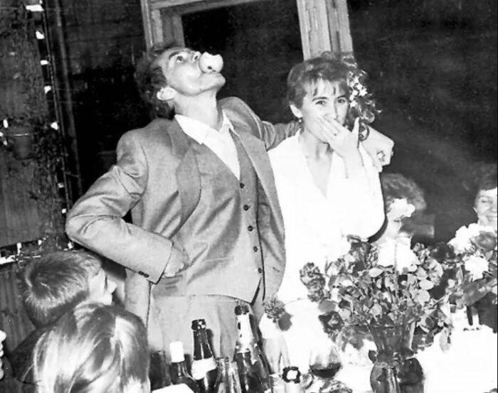 Андрей Панин и Татьяна Французова в день свадьбы. / Фото: www.eg.ru