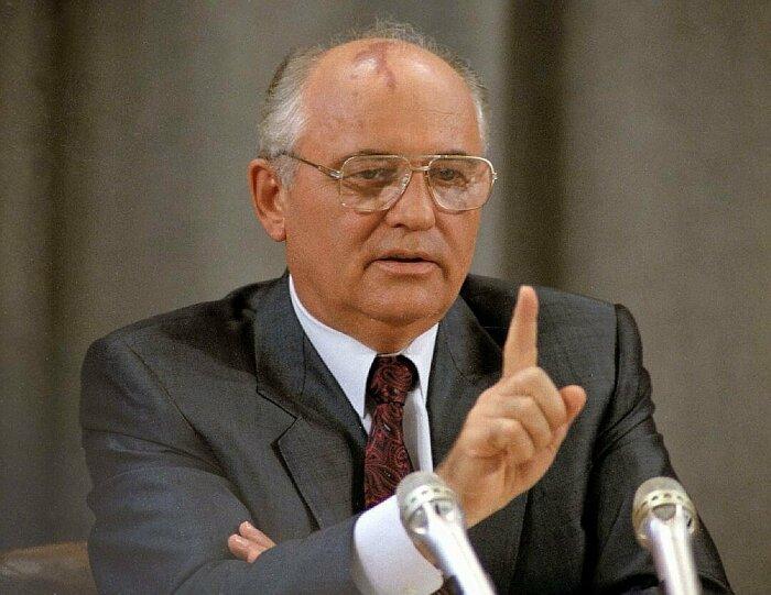 Михаил Горбачёв. / Фото: www.yablor.ru