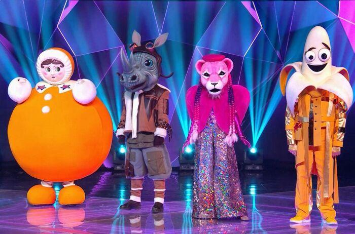 Кадр со съёмок шоу «Маска». / Фото: www.ntv.ru