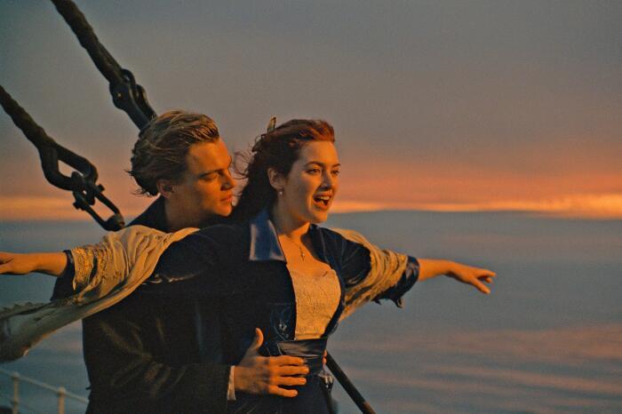 Кадр из фильма «Титаник». / Фото: www.titanic-live.com