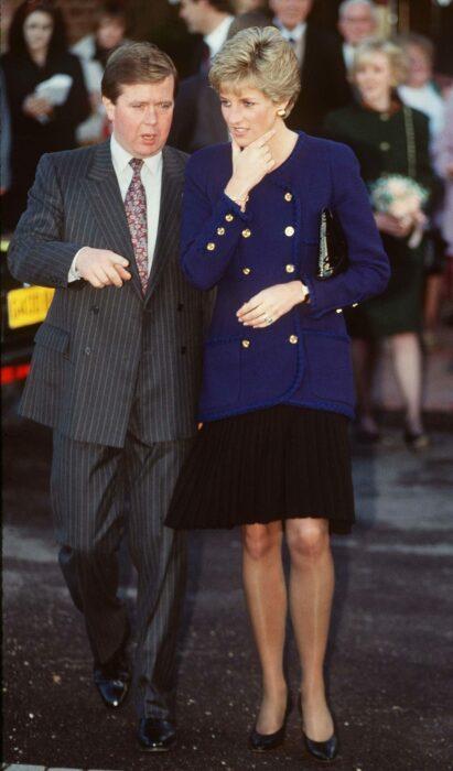 Кен Уорф и принцесса Диана. / Фото: www.thesun.co.uk