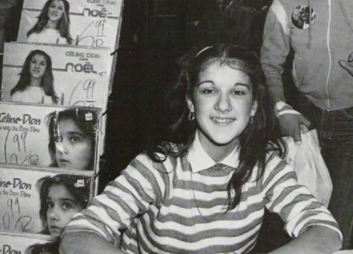 Селин Дион в начале карьеры. / Фото: www.yandex.net