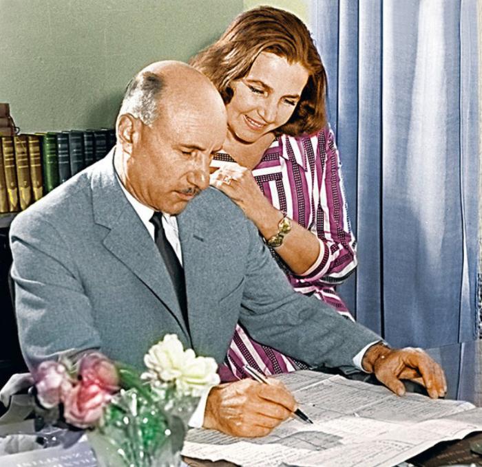 Тамара Макарова и Сергей Герасимов. / Фото: www.7days.ru