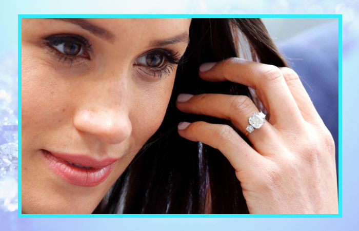 Помолвочное кольцо Меган Маркл.