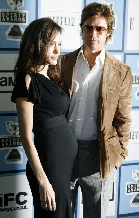 Анджелина Джоли и Брэд Питт. / Фото: www.krauzer.ru