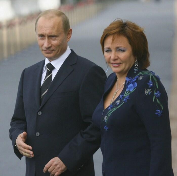 Владимир и Людмила Путины. / Фото: www.businessinsider.com.au