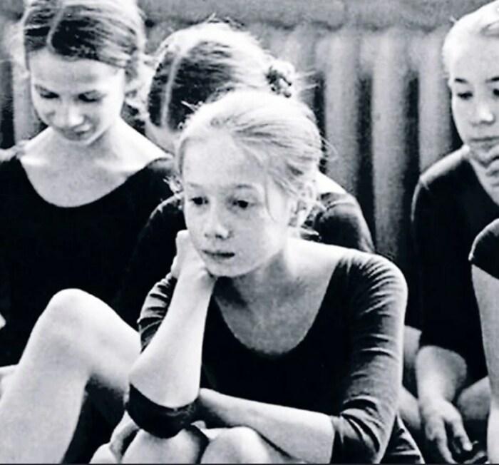 Елена Дмитриева в Вагановском училище. / Фото: www.7days.ru