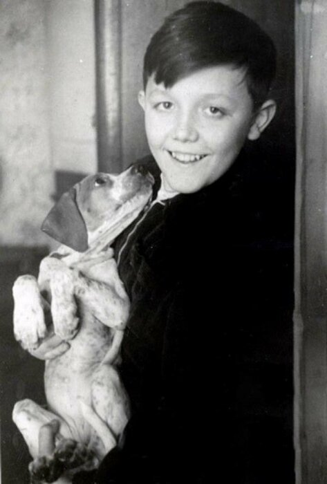 Юрий Сенкевич в детстве. / Фото: www.crazys.info