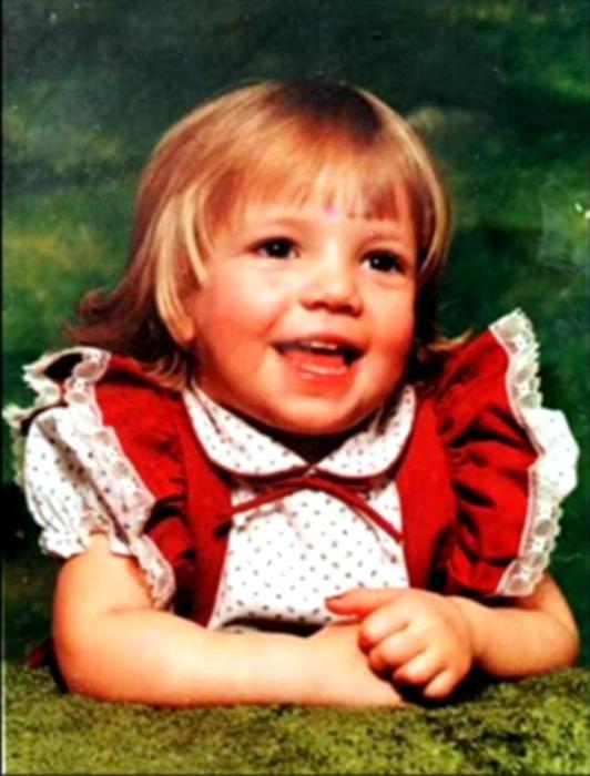 Бритни Спирс в детстве. / Фото: www.howmade.ru