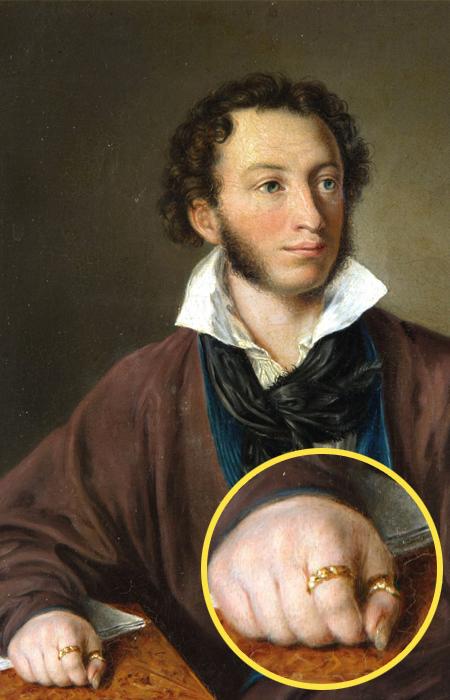 Александр Пушкин и его талисманы.