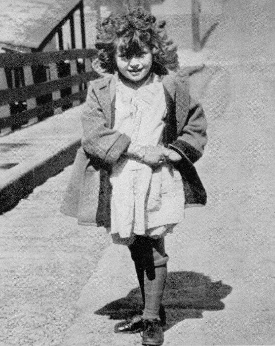 Лана Тёрнер в детстве. / Фото: www.tolknews.ru