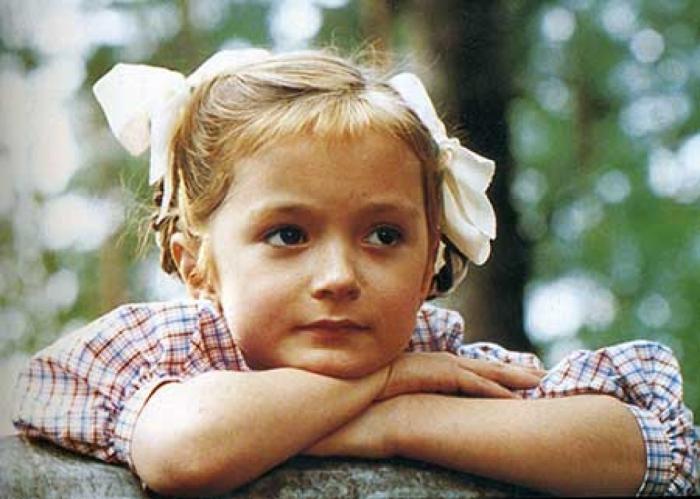 Надежда Михалкова в детстве. / Фото: www.teleprogramma.pro