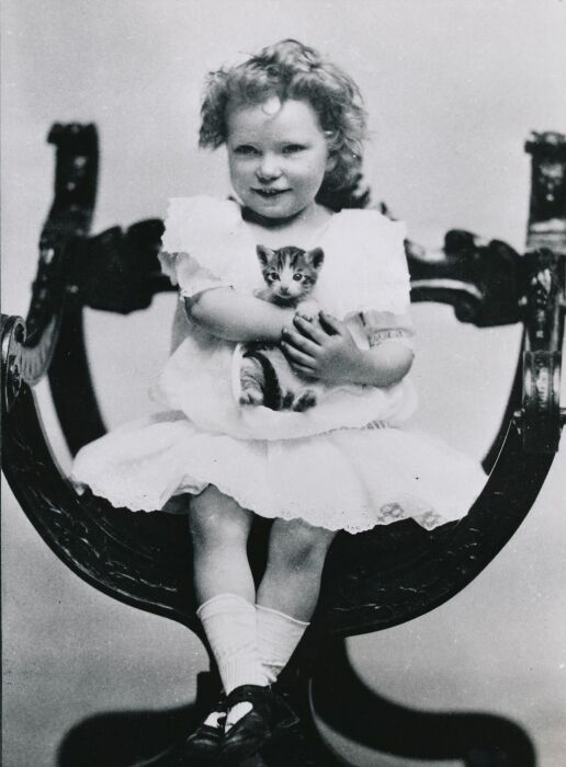 Маргарет Митчелл в детстве. / Фото: www.thirteen.org