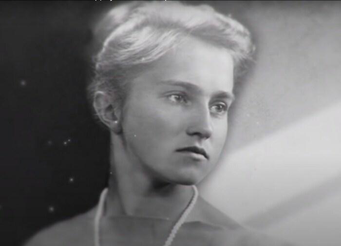 Тамара Москвина в юности. / Фото: www.1tv.ru