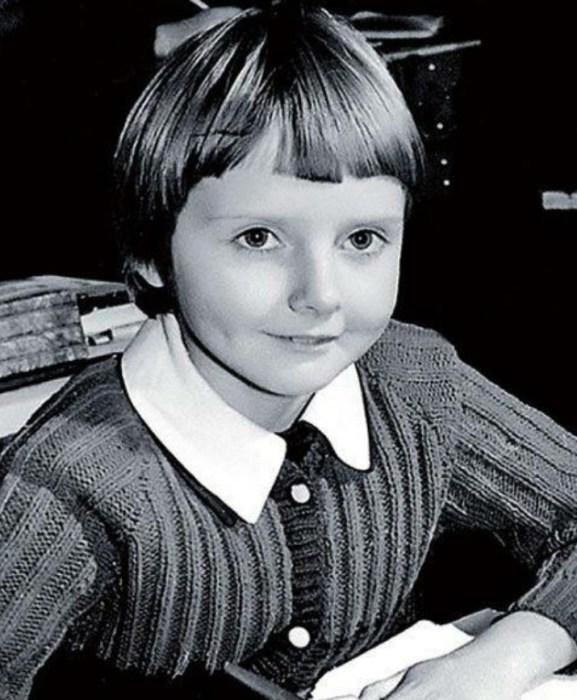 Екатерина Зинченко в детстве. / Фото: www.newsland.com