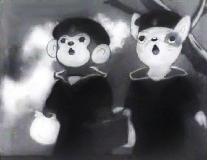 Так выглядели кадры из японских мультфильмов первой половины ХХ века. / Фото: www.alchetron.com