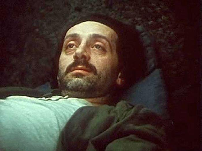 Нодар Мгалоблишвили, кадр из фильма «Берега». / Фото: www.kino-teatr.ru