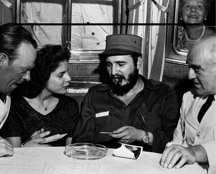 Марита Лоренц и Фидель Кастро. / Фото: www.whaleoil.net.nz