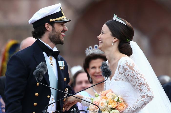 В день бракосочетания. / Фото: www.theknotnews.com