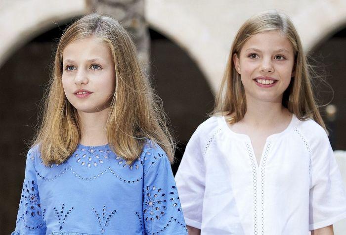 Принцесса Леонор и инфанта София, Испания. / Фото: www.netinfo.bg