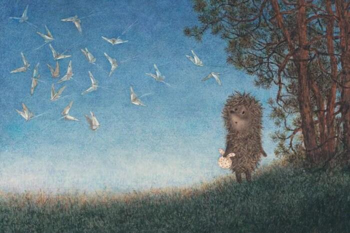 Кадр из мультфильма «Ёжик в тумане». / Фото: www.kinopoisk.ru
