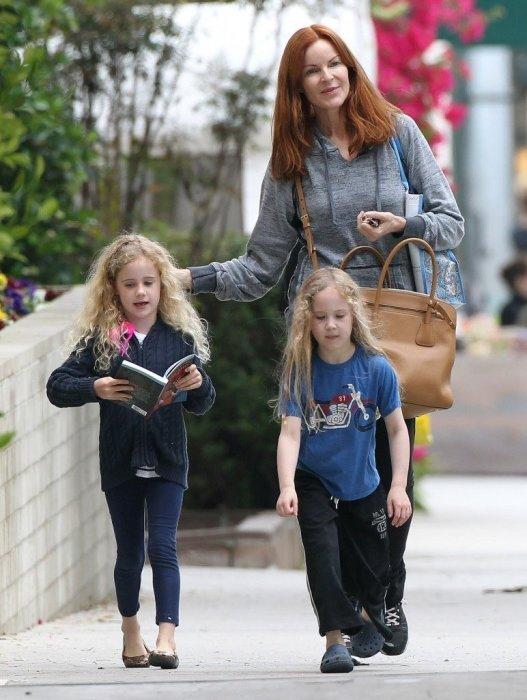 Марсия Кросс с детьми. / Фото: www.domohozayki.com