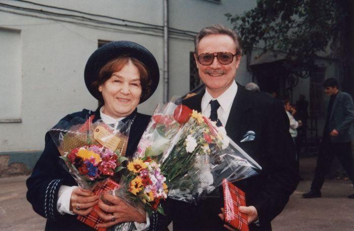 Ольга и Юрий Соломины. / Фото: www.maly.ru