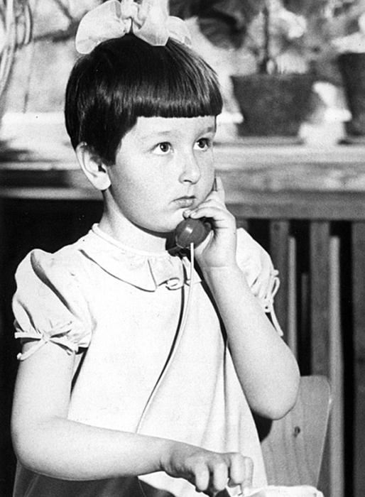Татьяна Куралесина в детстве. / Фото: www.24smi.org